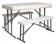 Trestle Table & Bench Set